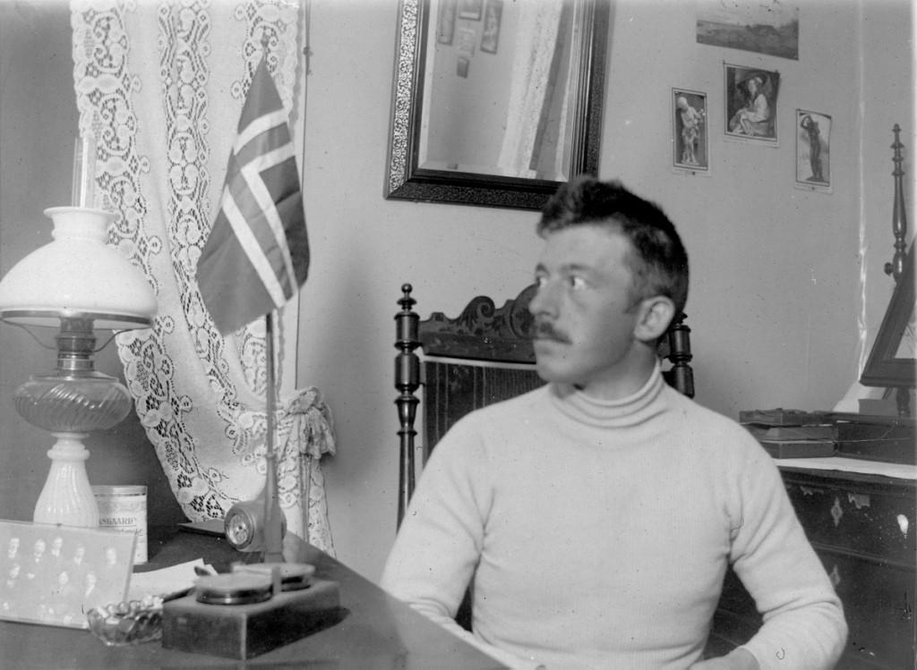 Pastor Løken på Sør-Georgia
