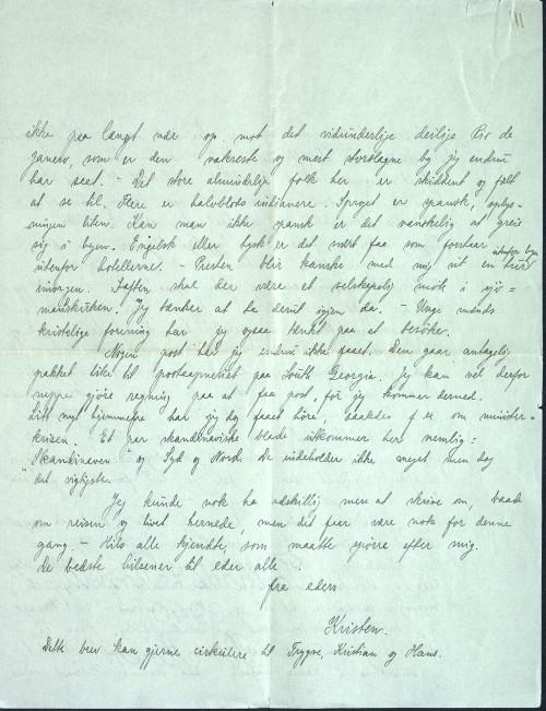 Pastor Løkens brevsamling - brev datert 27. februar 1912 - side 6