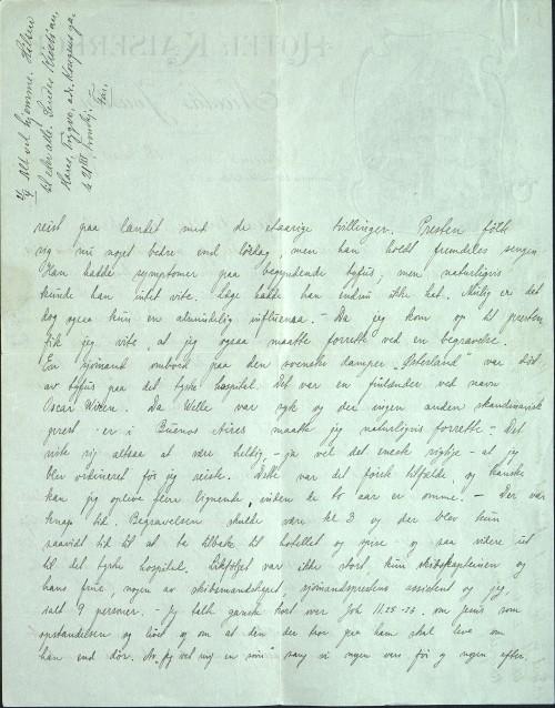 astor Løkens brevsamling - brev datert 18. mars 1912 - side 2
