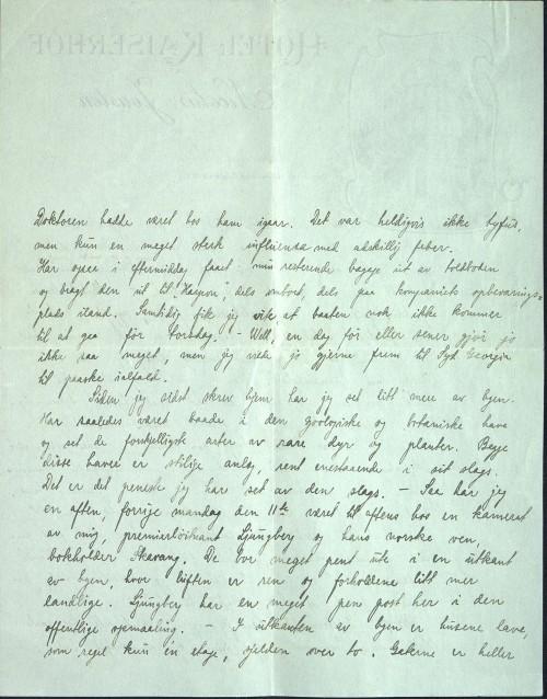 astor Løkens brevsamling - brev datert 18. mars 1912 - side 4