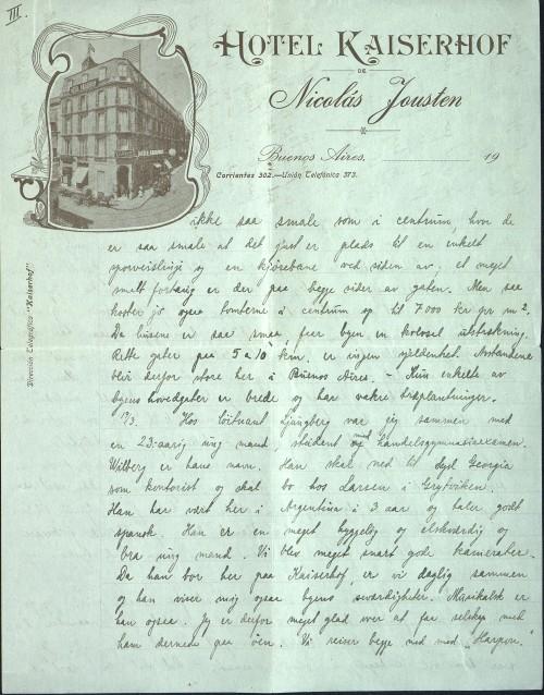 astor Løkens brevsamling - brev datert 18. mars 1912 - side 5