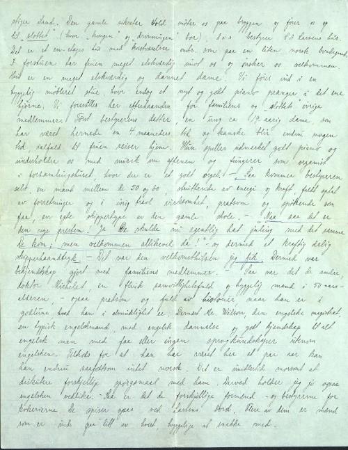 Pastor Løkens brevsamling - brev datert 15. april 1912 - side 4