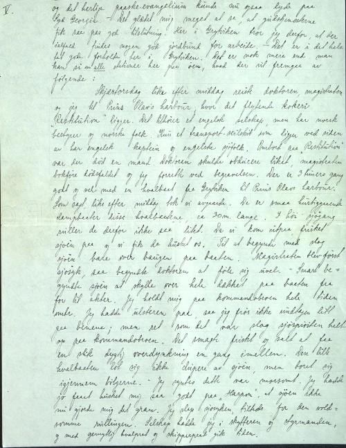 Pastor Løkens brevsamling - brev datert 15. april 1912 - side 9