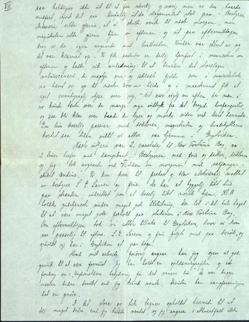 Pastor Løkens brevsamling - brev datert 15. april 1912 - side 13