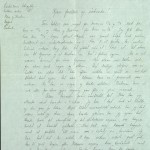 Pastor Løkens brevsamling - brev datert 6. mai 1912 - side 1