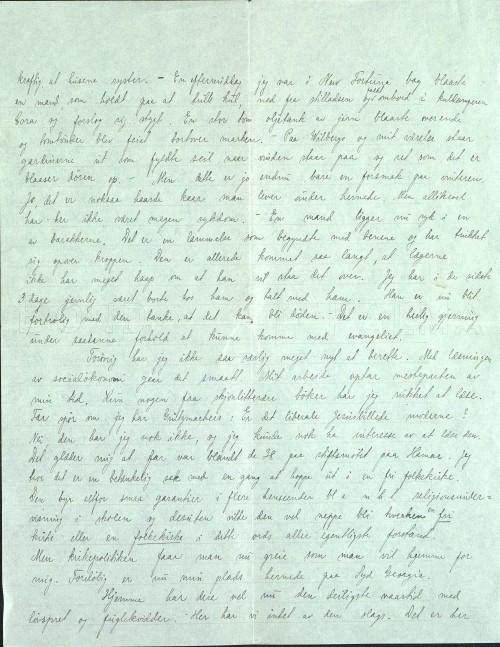 Pastor Løkens brevsamling - brev datert 6. mai 1912 - side 6