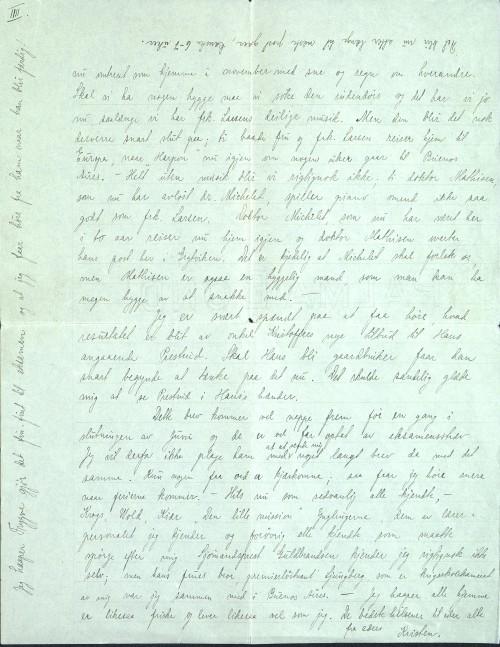 Pastor Løkens brevsamling - brev datert 6. mai 1912 - side 7