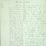 Pastor Løkens brevsamling - brev datert 11. juli 1912 - side 1