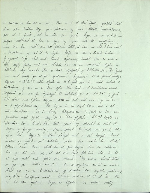 Pastor Løkens brevsamling - brev datert 11. juli 1912 - side 2