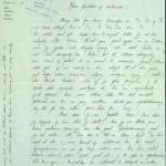 Pastor Løkens brevsamling - brev datert 15. oktober 1912 - side 1