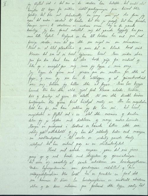 Pastor Løkens brevsamling - brev datert 15. oktober 1912 - side 3
