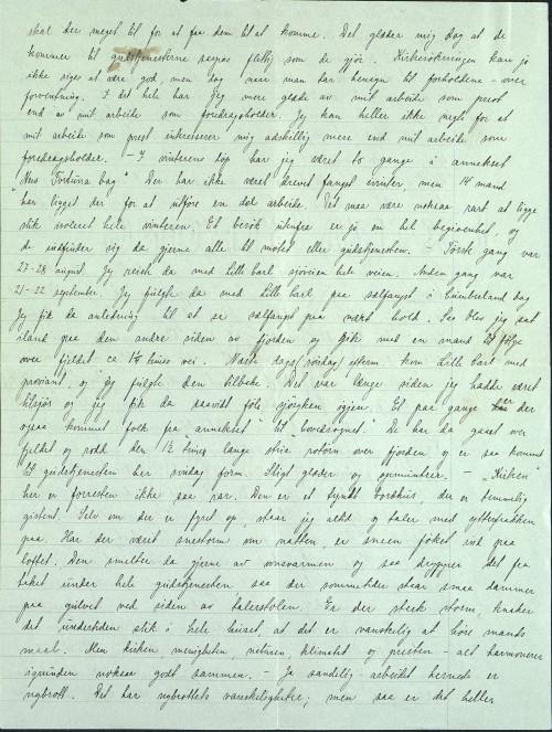 Pastor Løkens brevsamling - brev datert 15. oktober 1912 - side 4