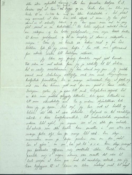 Pastor Løkens brevsamling - brev datert 15. oktober 1912 - side 5