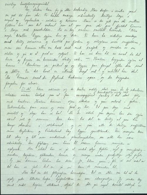 Pastor Løkens brevsamling - brev datert 15. oktober 1912 - side 6