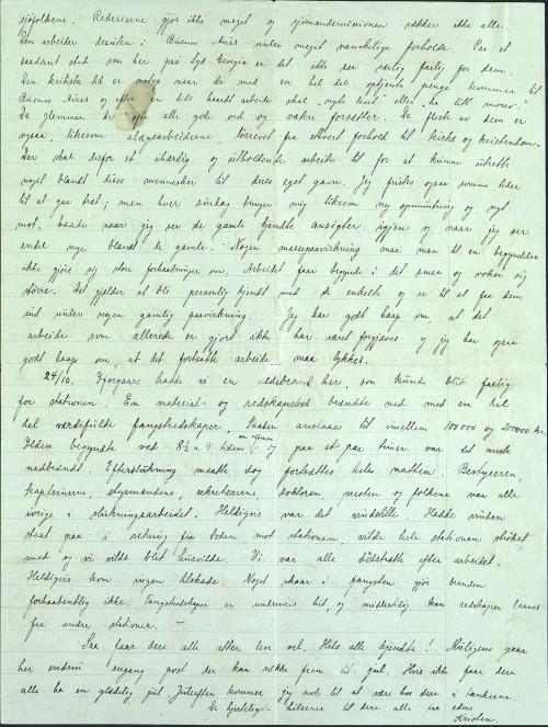 Pastor Løkens brevsamling - brev datert 15. oktober 1912 - side 8