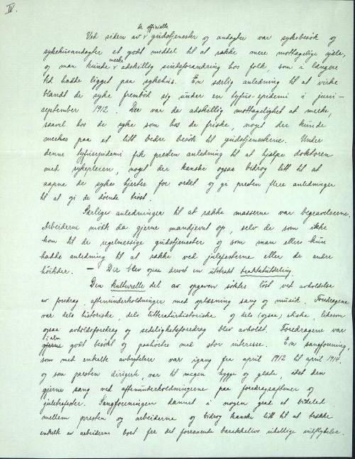 Pastor Løkens brevsamling - brev datert 17. august 1914 - side 6