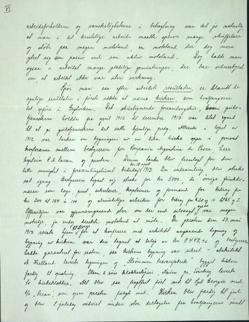 Pastor Løkens brevsamling - brev datert 17. august 1914 - side 8