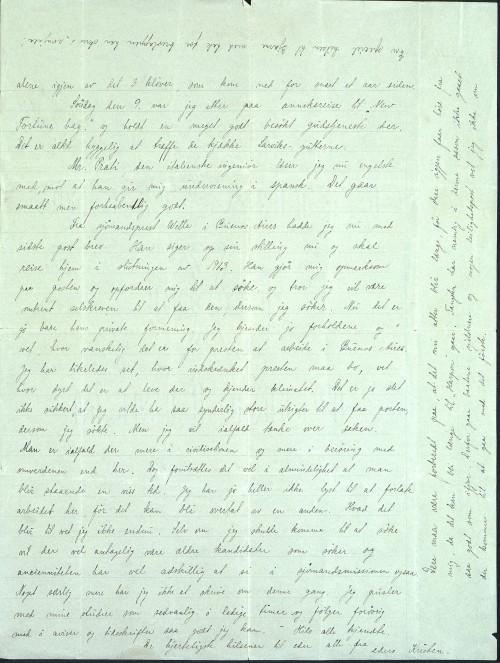 Pastor Løkens brevsamling - brev datert 21. februar 1913 - side 2