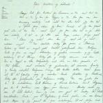 Pastor Løkens brevsamling - brev datert 14. mai 1913 - side 1