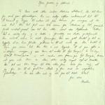 Pastor Løkens brevsamling - brev datert 5. oktober 1913 - side 1