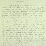 Pastor Løkens brevsamling - brev datert 26. mai 1914 - side 1