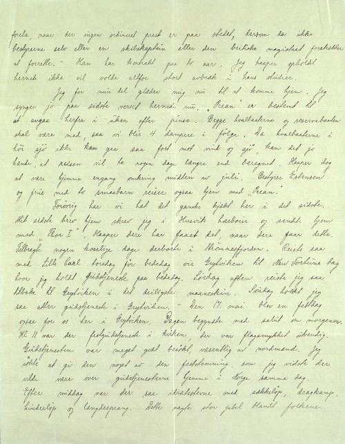 Pastor Løkens brevsamling - brev datert 26. mai 1914 - side 2