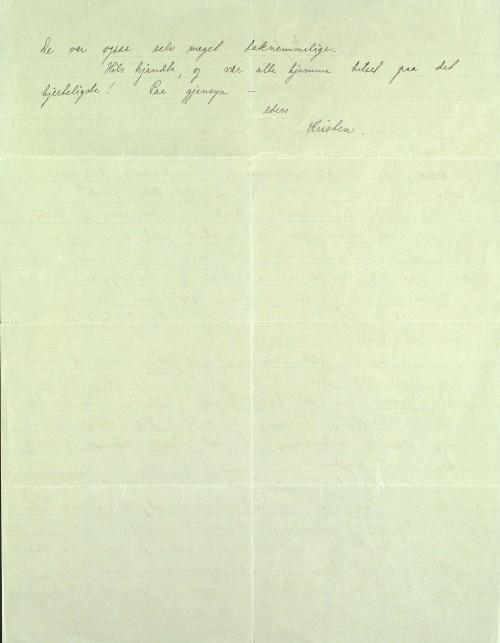 Pastor Løkens brevsamling - brev datert 3. juni 1914 - side 2