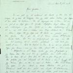 Pastor Løkens brevsamling - brev datert 12. juli 1914 - side 1