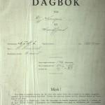 Forsiden til Norvegias skipsprotokoll