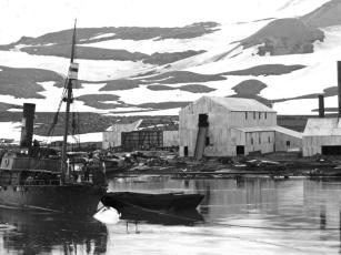 Landstasjon på Deceptionøya