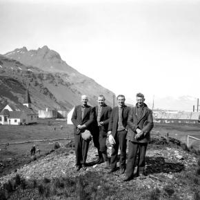 Fra landstasjonen Grytviken på Sør Georgia