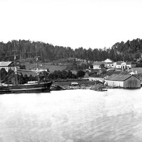 Ravndal på Nøtterøy – Svend Foyns bolig og tilhørende industribygg ca 1875