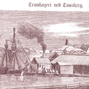 Svend Foyns trankokeri på Ravndal på Nøtterøy -Slottsfjellsmuseets fotoarkiv